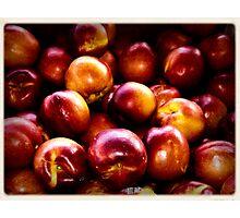 """Peachy"" Photographic Print"