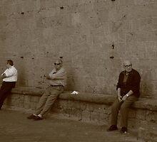Volterra, Italy  by Mariai