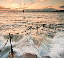 The Old Pier North Berwick by Graham Stirling