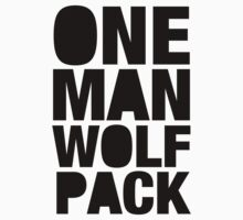 ONE MAN WOLF PACK by electrictees