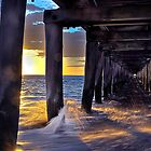 Golden Splashes Pt Lonsdale by annibels