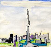 The Dubai Tower by Anne Gitto