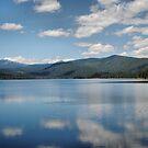 Clouds On Lake Almanor by NancyC