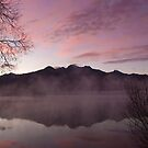 Pink dawn, KInloch NZ by Odille Esmonde-Morgan