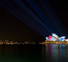 Vivid Sydney Light Festival by Sylvia Wu