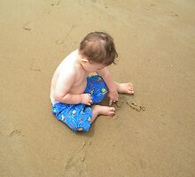 Devin's first trip to the shore - Rehoboth Beach, DE by stacieb117