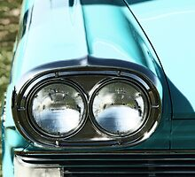 1958 Edsel Ranger Headlights by Steve Hunter