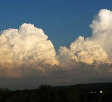 Whipped Cream Sky ~ Hamburg, NY by artwhiz47