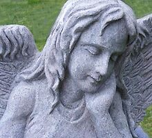 Praying For You Angel by Marie Sharp