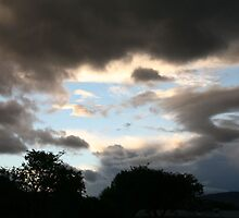 Threatening Clouds by Susan Bailey