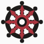 Chaos Dharma Wheel by buddhabadges