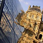 'Musee du Louvre' by Rachel Kendall