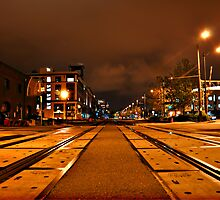 On Track - Seattle Washington by Cody Waters