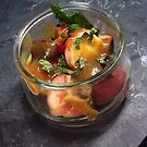 Summery fruit salad with mint and a sesame butterscotch - 2 by RecipeTaster