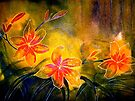 Drawing Day...B's Daylilies by © Janis Zroback
