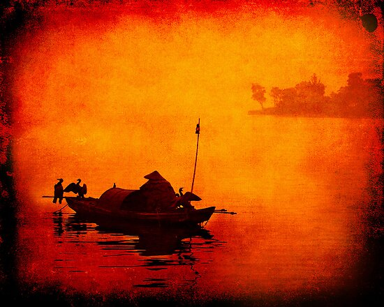 Ancient times of SuZhou by Sabine Fink