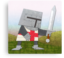 Brave Knight! Canvas Print