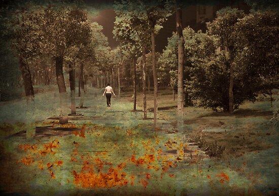 she walks at night by marcwellman2000