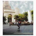 Washington Square, Greenwich Village, NYC, NY by Ellen Turner