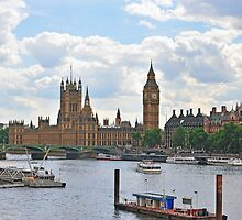 Westminster and River Thames by mike1242