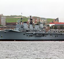 HMS Ark Royal by HALIFAXPHOTO