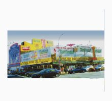 Nathan's, Coney Island, Brooklyn, NY by Ellen Turner