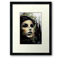 Lady Misfortune Framed Print