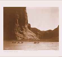 Canyon de Chelly by Edward S. Curtis (1868 - 1952) by mfloathe