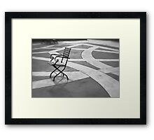 Morning Chair Framed Print