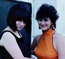 Mandy Pryor and Juilee Pryor 1982 by ArtUnit