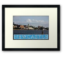 Newcastle Harbour - Australia Framed Print