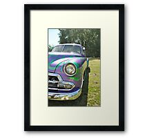 Freedom in general may be defined as the absence of obstacles to the realization of desires Framed Print