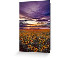 The End Of The Day Greeting Card