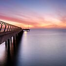 Lorne Jetty by Darryl Leach