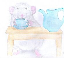 Rosie having a coffee break by LadyE