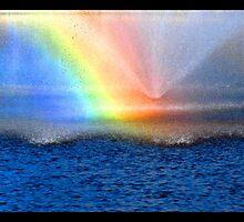 rainbow fountain by vampvamp