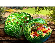 Exotic Melons Photographic Print