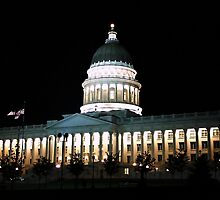 State of Utah Capitol Building ~ Salt Lake City, Utah by Jan  Tribe