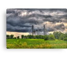 Storm Clouds Gathering Metal Print