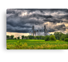 Storm Clouds Gathering Canvas Print
