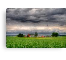 Storm Clouds Gathering-2 Canvas Print
