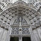 Tours Cathedral Portal by Gothman