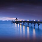 Clevedon Pier  by Alan Watt