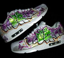 Lauren nike air max - shoes custom by Redwan Belhadri