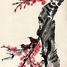 Plum Blossom. by Origa