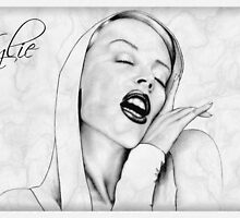 Kylie Minogue portrait by wu-wei