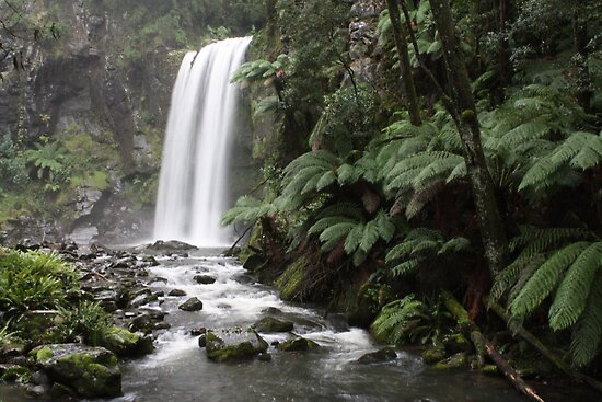 hopetoun falls by Steve Scully