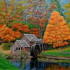 Mabry Mill by Terry Huey