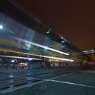 The Night Train at Jack London Square by MattGranz
