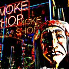 Smoke Shop by iwasoutwalking
